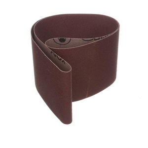 3M  36 in. L x 4 in. W Aluminum Oxide  80 Grit Medium  1 pk Sanding Belt