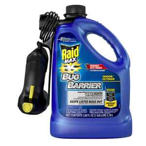 Raid  Bug Barrier  Aerosol  Insect Barrier  128 oz.