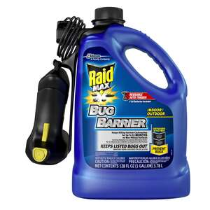 Raid  Barrier Treament  For Fleas, Ants, Multi Insect 1 gal.