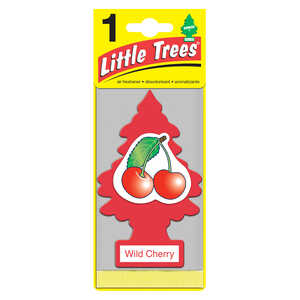 Little Trees  Wild Cherry  Car Air Freshener  1 pk