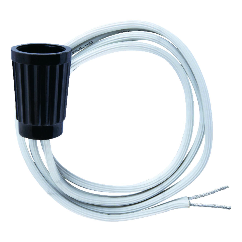 Jandorf Phenolic Candelabra Base Pigtail Socket 1 Pk Ace