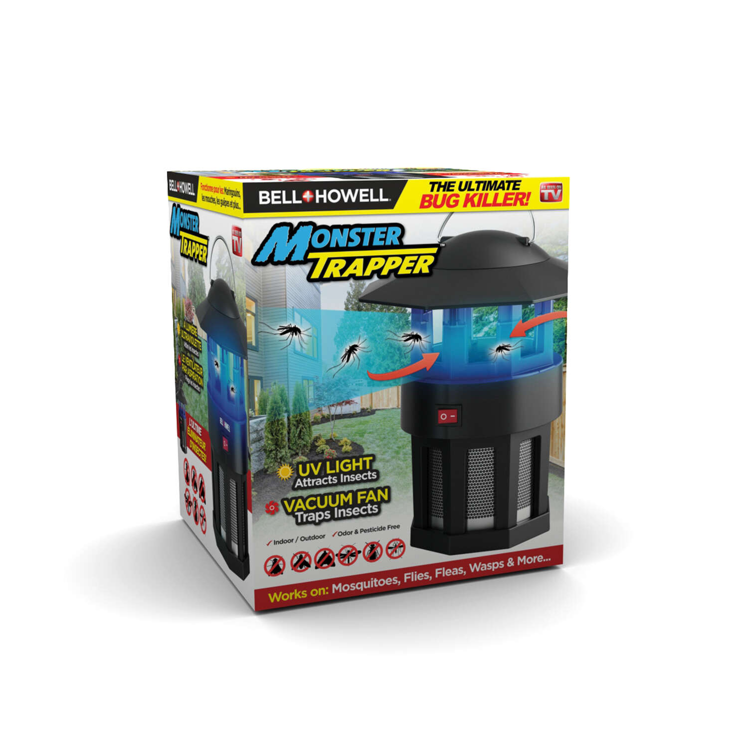 Bell+Howell Monster Trapper Indoor and Outdoor Insect Killer