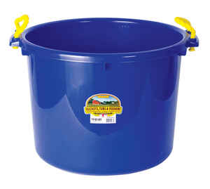 Little Giant  70 qt. Bucket  Blue