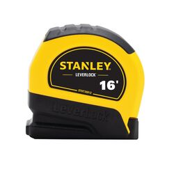 Stanley LeverLock 16 ft. L x 0.75 in. W Tape Measure 1 pk