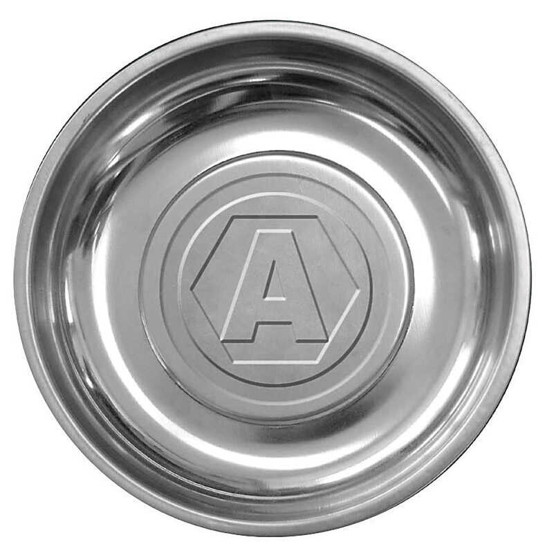 Ace  6 in. L x 6 in. W x 3 in. H Magnetic Tray  Stainless Steel  Silver