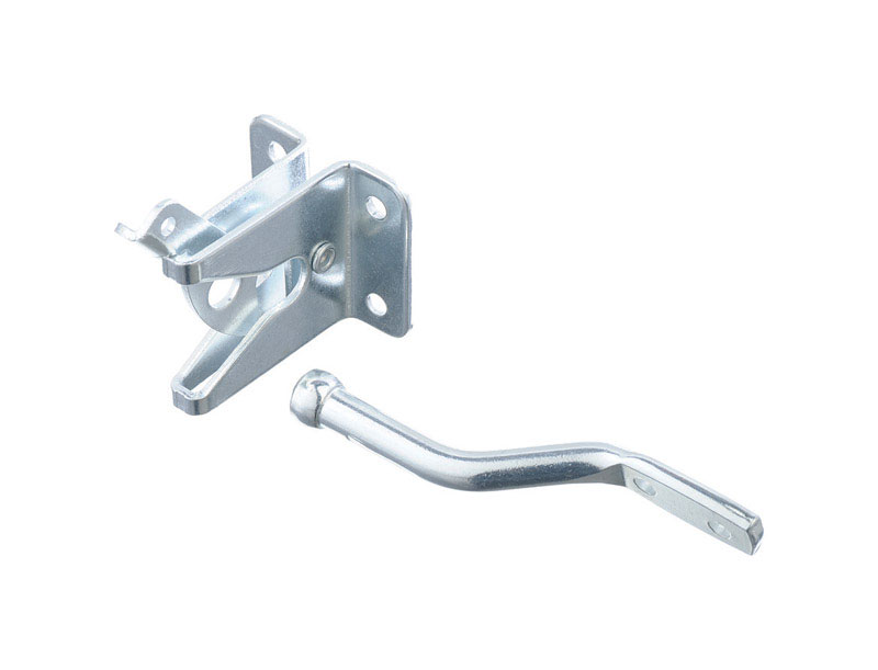 Ace Gate Latch Inswing 1-3/4 in. x 1-3/4 in. For gates, Shed/Barn Doors or Animal Pens Zinc Zinc