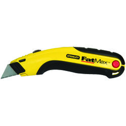 Stanley  FatMax  Retractable  Utility Knife  Black/Yellow  1 pk