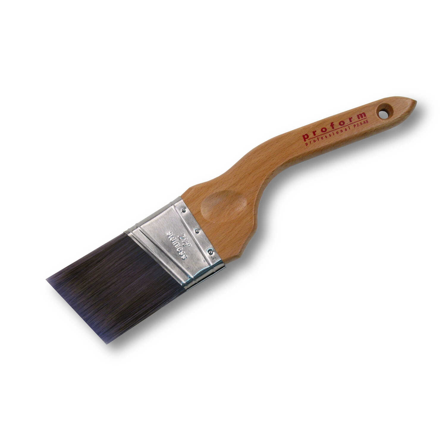 Proform  2-1/2 in. W Soft  Angle  PBT  Contractor Paint Brush