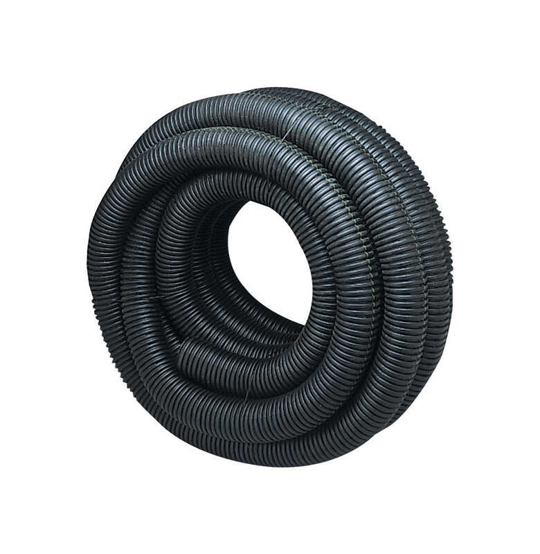 ADS  4 in. Dia. x 100 ft. L Polyethlene  Corrugated Drainage Tubing
