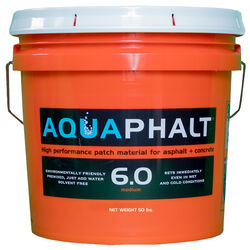 Aquaphalt  6.0  Black  Water-Based  Asphalt and Concrete Patch  3.5 gal.