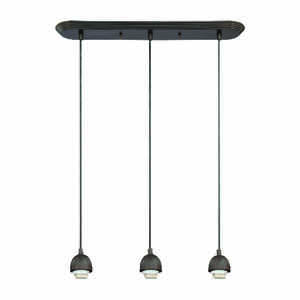 Westinghouse  Black  3 lights Mini Pendant Light  Oil-Rubbed