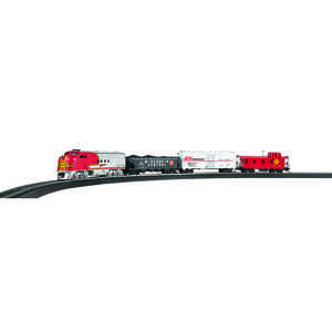 Bachmann  Ace Hardware  Plastic/Steel  Train Set