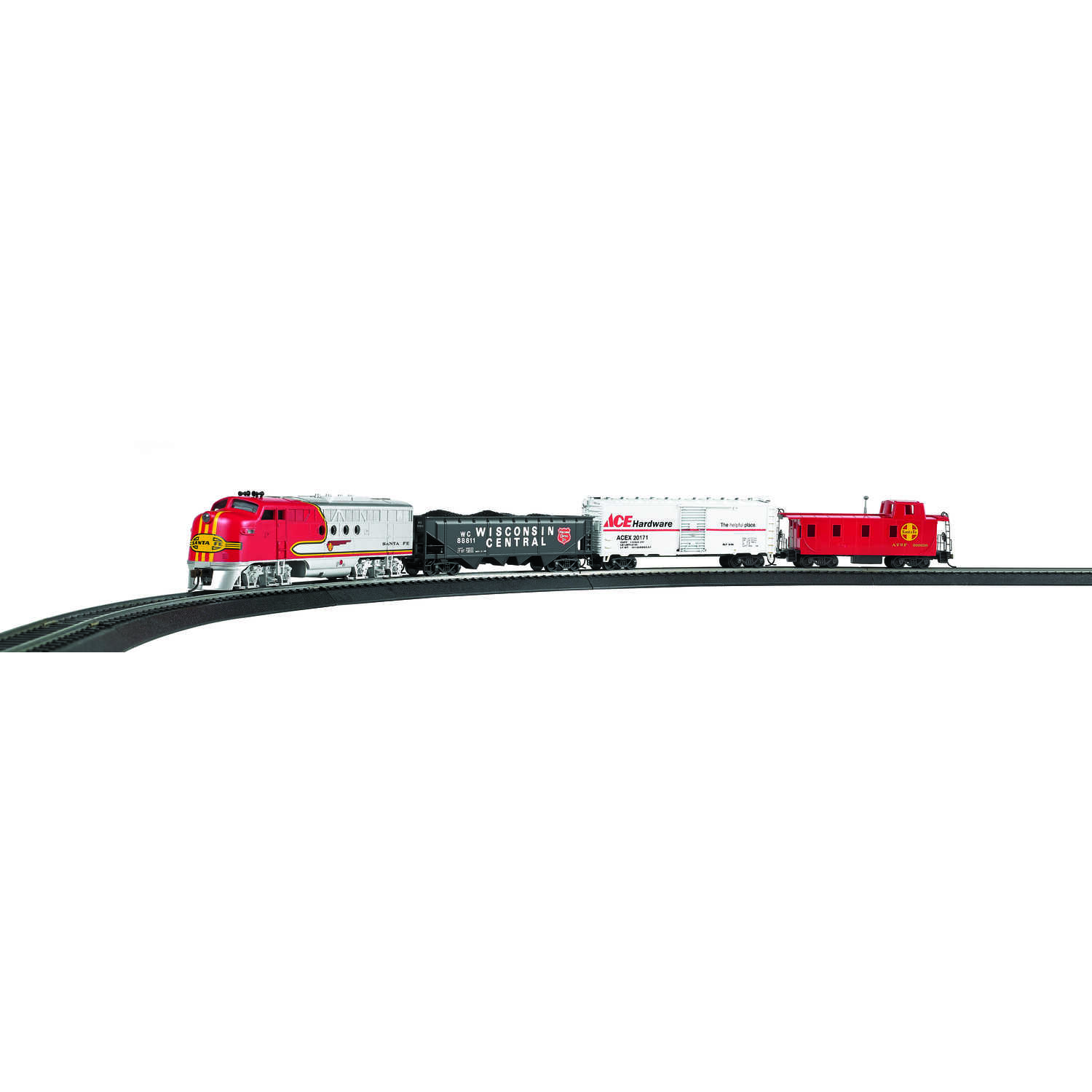 Bachmann  Ace Hardware  Train Set  Plastic/Steel