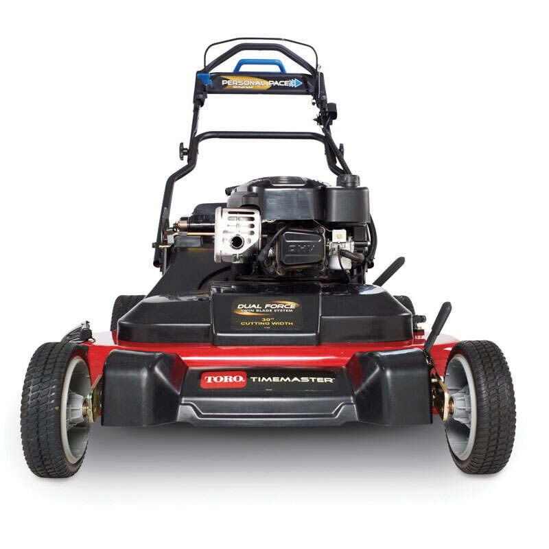 Toro  Personal Pace TimeMaster  30 in. W 223 cc Self-Propelled  Mulching Capability Lawn Mower