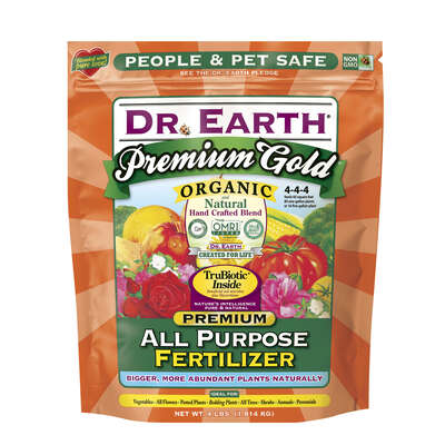 Dr. Earth  Premium Gold All Purpose  Granules  Organic Plant Food  4 lb.
