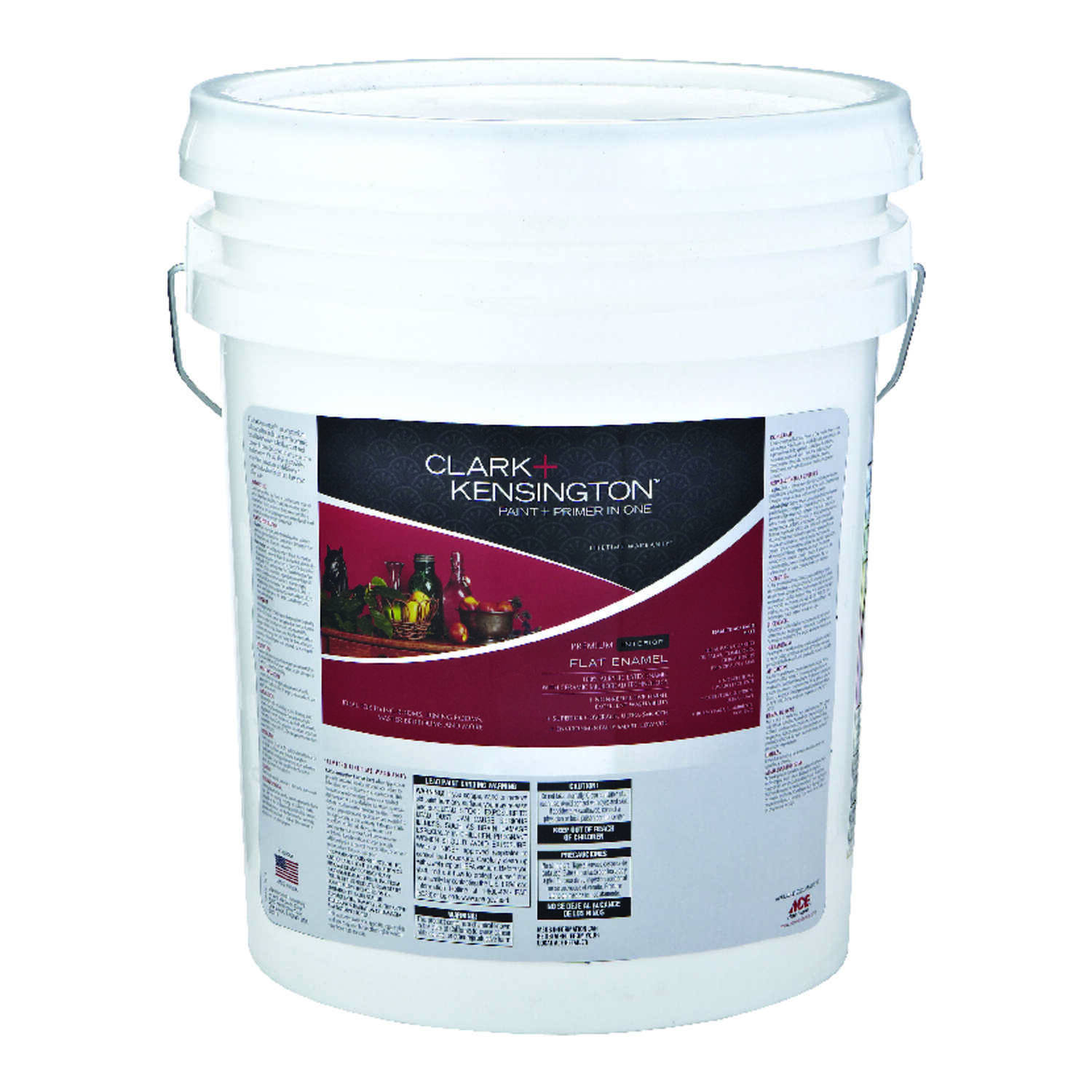 Clark+Kensington  Flat  Tintable Base  Neutral Base  Acrylic Latex  Paint and Primer  5 gal.