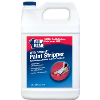 Blue Bear  Safenol  Paint and Varnish Stripper  1 gal.
