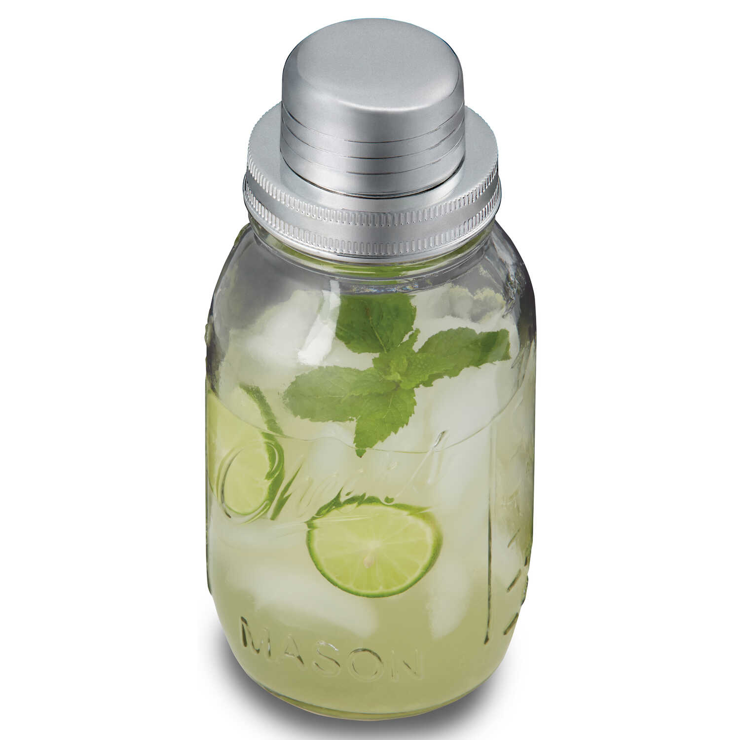 Sharper Image  Clear  Cocktail Shaker