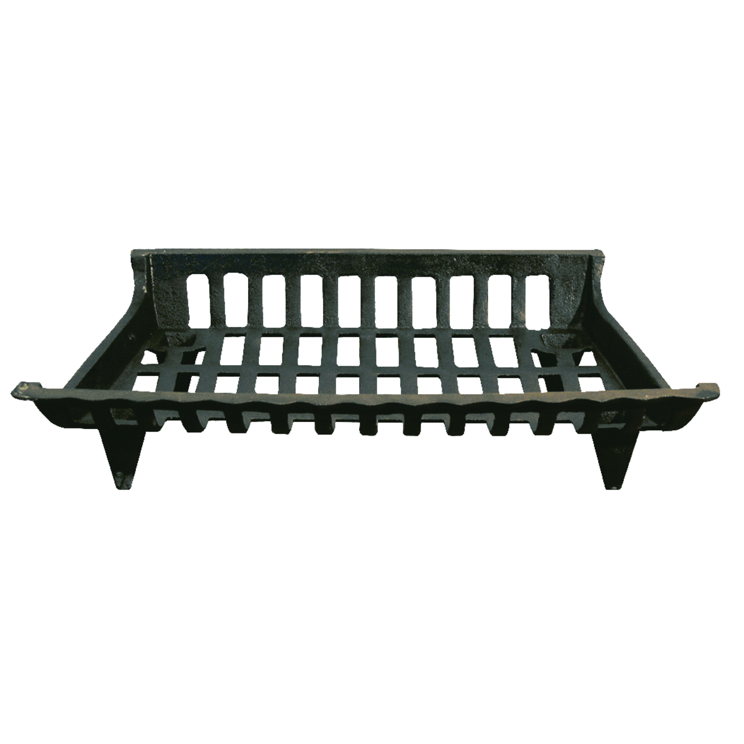 Ace Black Fireplace Grate Cast Iron
