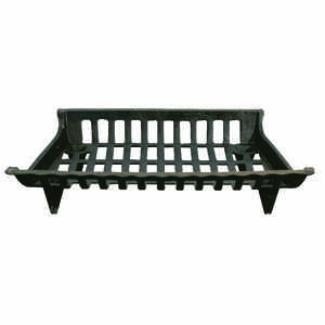Ace  Black  Black  Fireplace Grate  Cast Iron