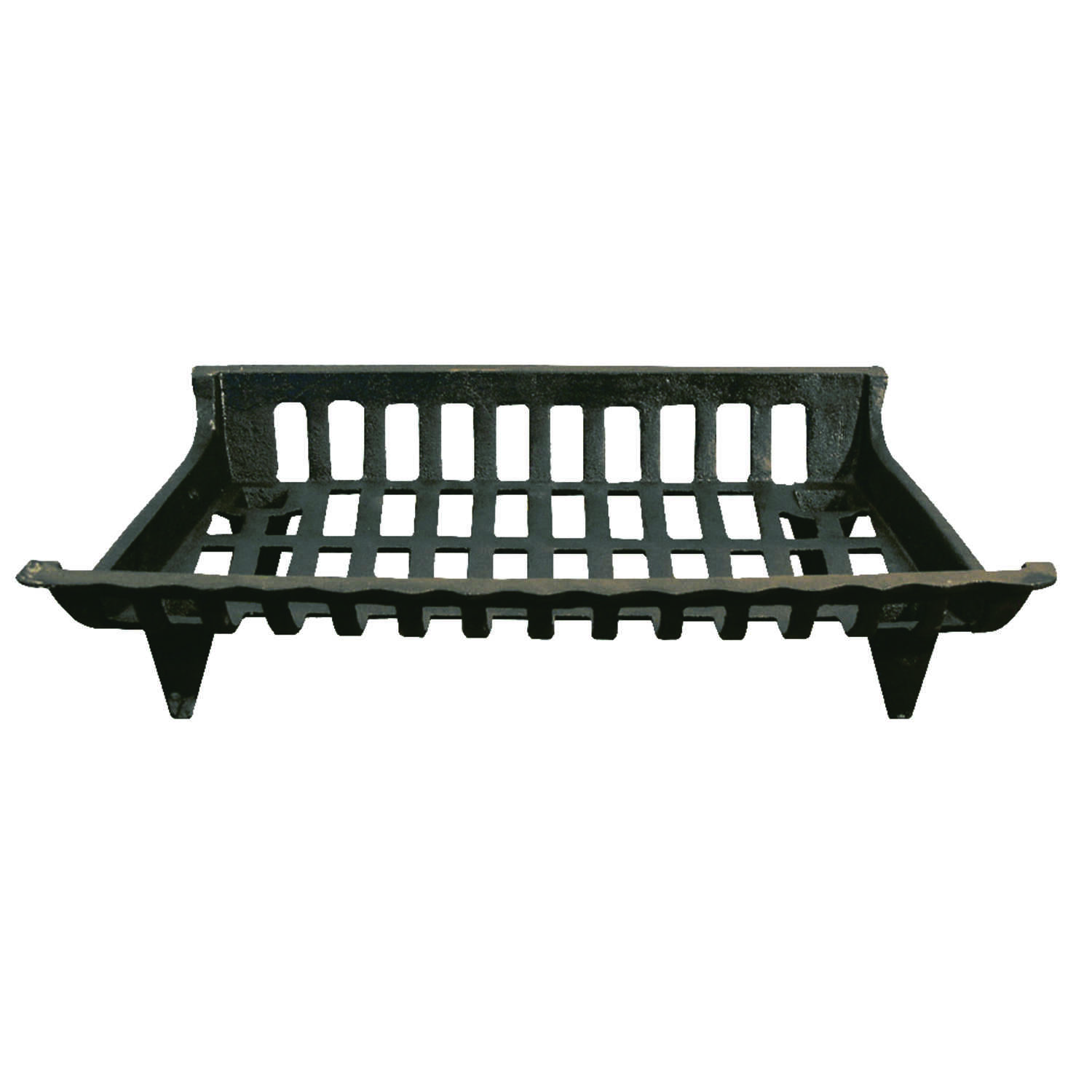 Ace  Black  Black  Cast Iron  Fireplace Grate
