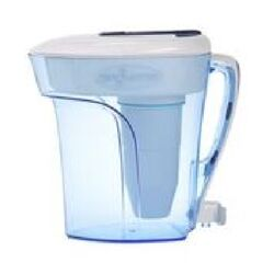 ZeroWater  Ready-Pour  96 oz. Blue  Water Filtration Pitcher