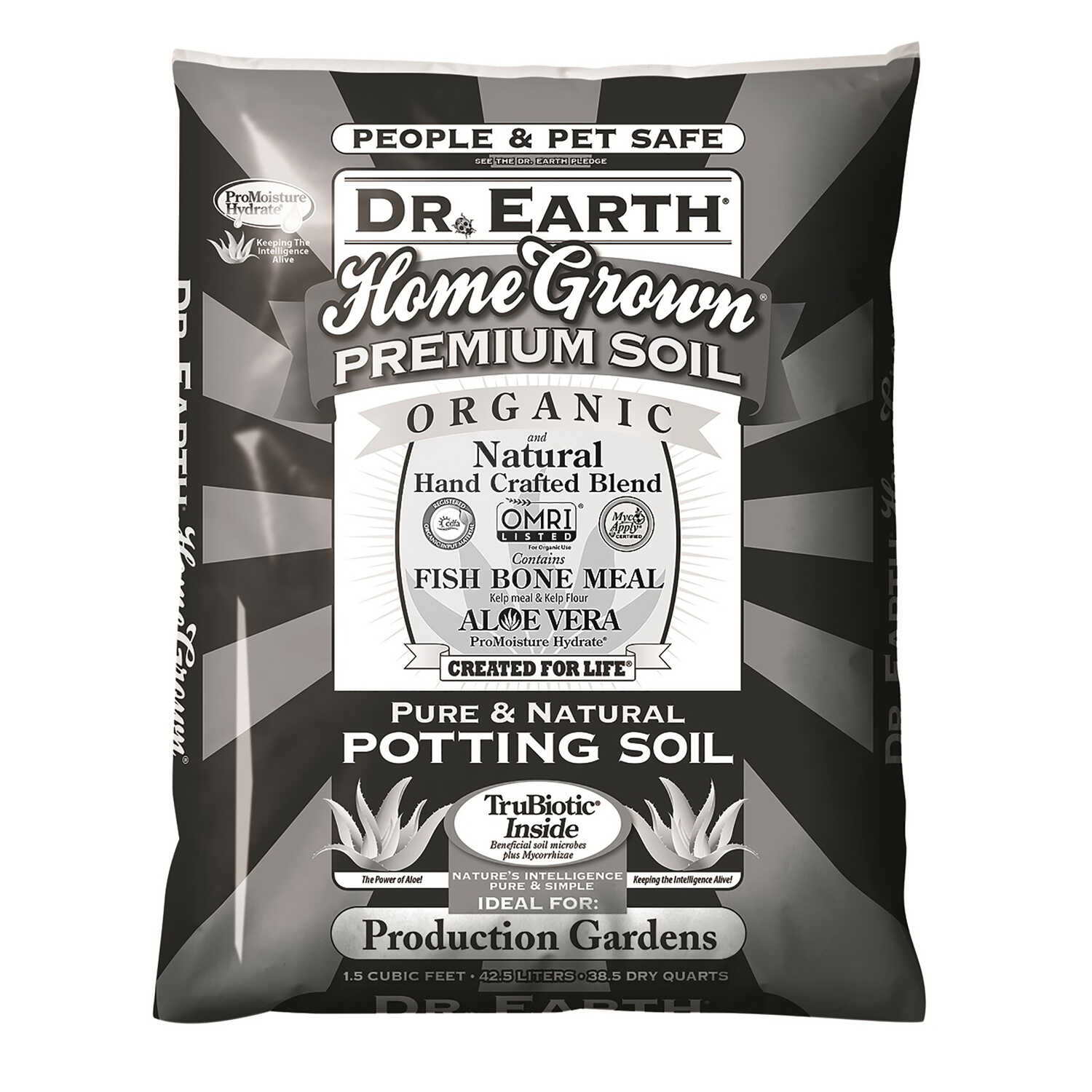 Dr. Earth  Home Grown  Organic Potting Soil  1.5 cu. ft.