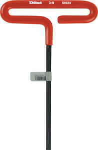 Eklind Tool  3/8  SAE  T-Handle  Hex Key  6 in. 1 pc.
