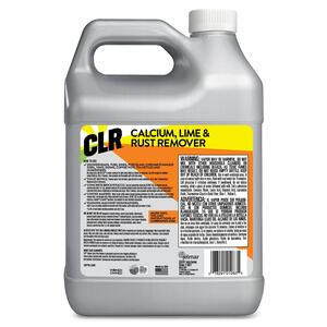 CLR  128 ounce oz. Calcium, Lime and Rust Remover