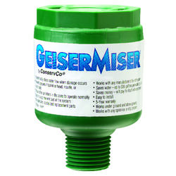 Conservco  Geiser Miser  Drip Irrigation Riser Adapter