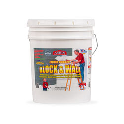Ames Block & Wall Matte Bright White Liquid Rubber 5 oz. Exterior and Interior Waterproof and