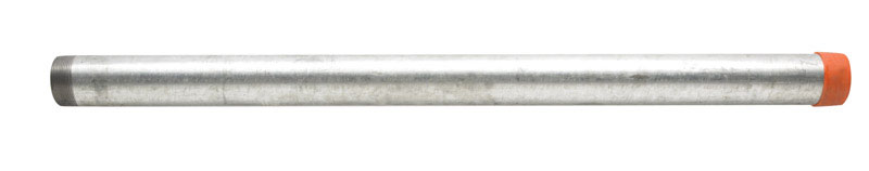 Ace  2 in. Dia. x 36 in. L Gray  Galvanized  Pre-Cut Pipe