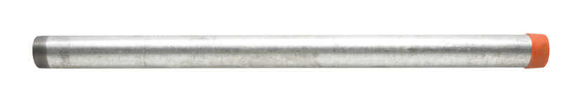 B&K Mueller  2 in. Dia. x 36 in. L Galvanized  Steel  Pre-Cut Pipe