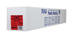 Berry Plastics  Film-Gard  Plastic Sheeting  6 mil  x 12 ft. W x 100 ft. L Polyethylene  Black
