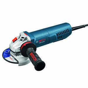 Bosch  Corded  120 volt 10 amps 4-1/2 in. in. Angle Grinder  11500 rpm