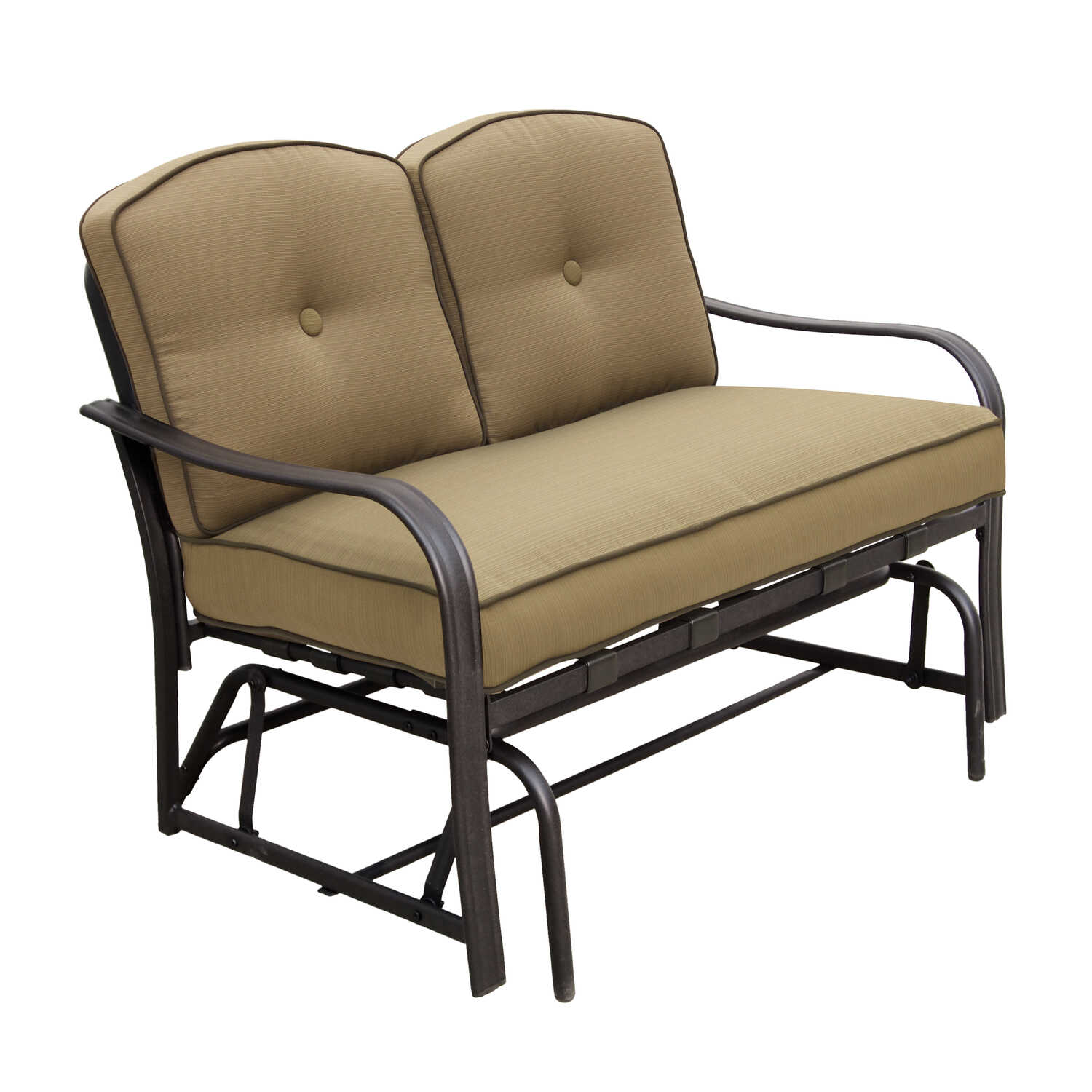 Living Accents  2 person  Brown  Roma  Double Glider  Brown
