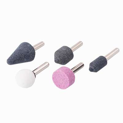 Craftsman  Aluminum Oxide  Grinding Stone Set  Assorted Shapes  25000 rpm 5 pc.
