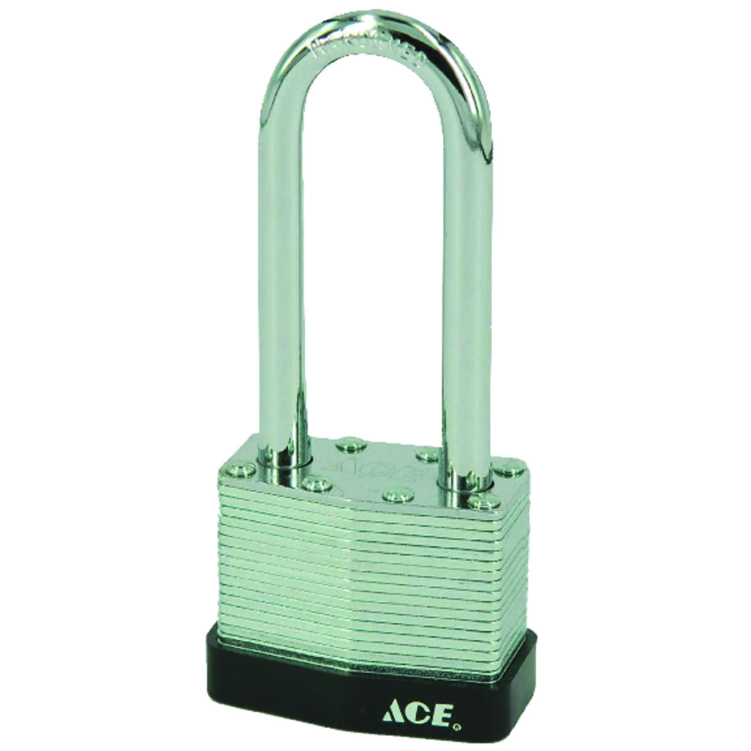Ace  1-5/16 in. H x 1-9/16 in. W Steel  Double Locking  Padlock  1 pk