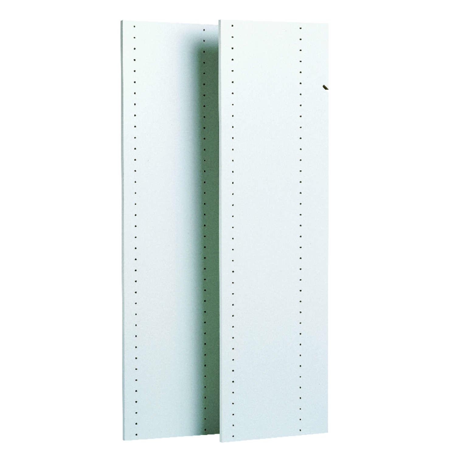 Easy Track  48 in. H x .625 in. W x 14 in. L Wood  Tower Panels  2 pk