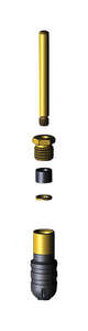 Woodford  Y34 Iowa  1/2 in. MIP  Dia. x 1/2 in. Dia. Hose  Brass  Hydrant Repair Kit