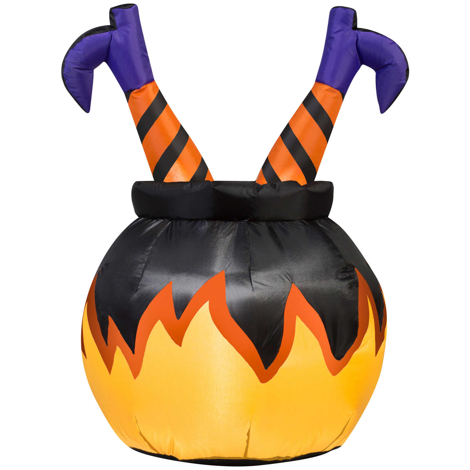Gemmy  Witch Legs in Cauldron  Halloween Inflatable  36 in. H x 23.622 in. W x 27.56 in. L 1 pk