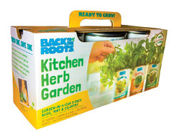 Back To The Roots Kitchen Herb Garden Assorted Herbs Grow Kit 3 pk