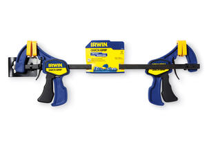 Irwin  Quick-Grip  12 in.  x 2-7/16 in. D Bar Clamp  100 lb.
