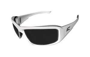 Edge Eyewear  Brazeau Torque  Safety Glasses  White  1  Smoke