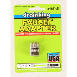 GT Water Products  Drain King  Faucet Adapter