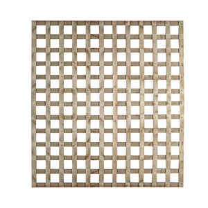 Suntrellis  Georgian Square  8 ft. W x 4 ft. L Lattice Panel