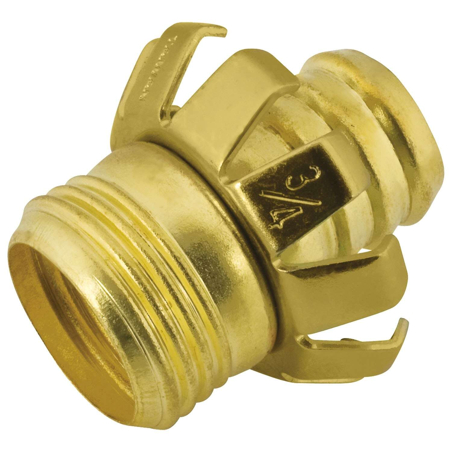 Ace  3/4 in. Metal  Threaded  Male  Clinch Hose Mender Clamp