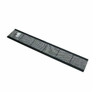 Amerimax  6 in. W x 36 in. L Black  Plastic  Gutter Guard