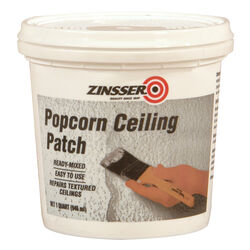 Zinsser Ready to Use White Popcorn Ceiling Patch 1 qt.