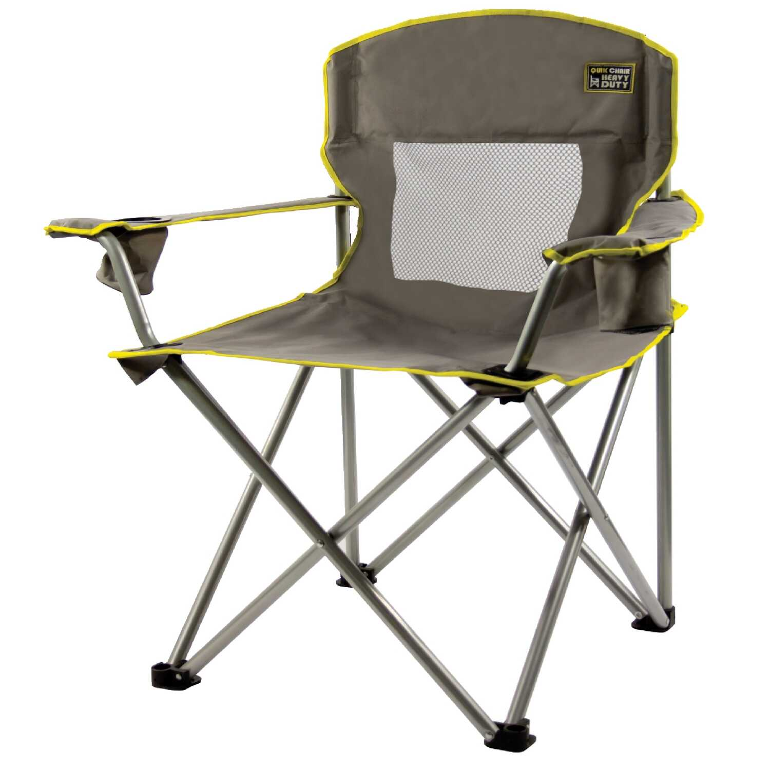 Quik Shade  Gray  Folding Chair